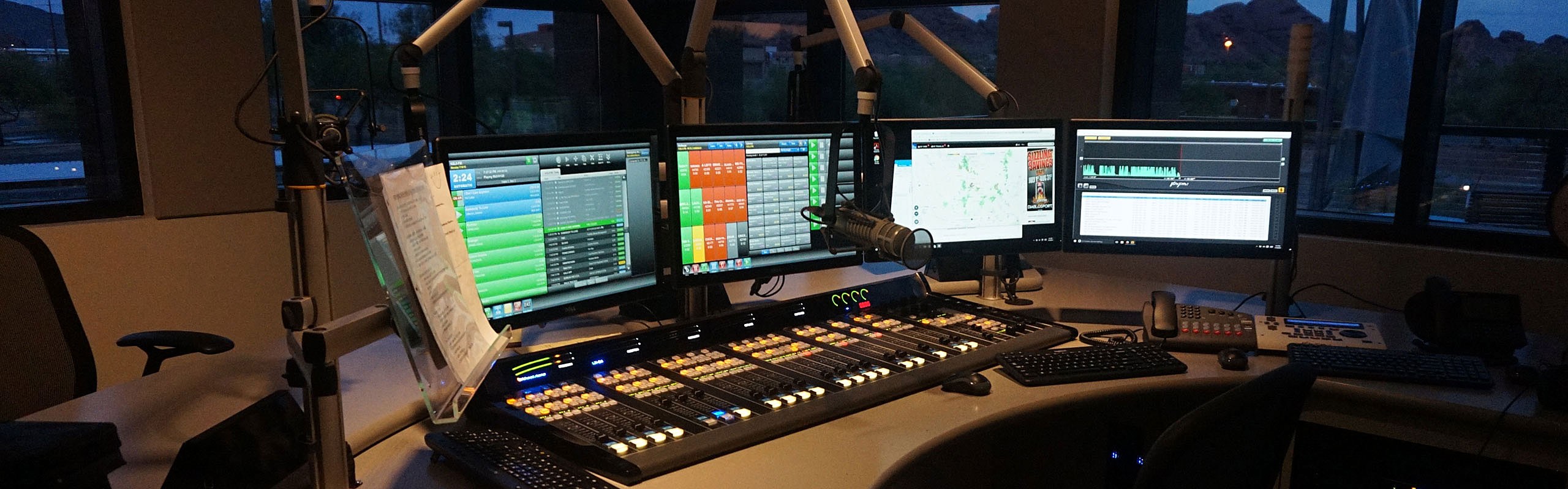 OVERVIEW: Radio Consoles, Networking, Software, Processing