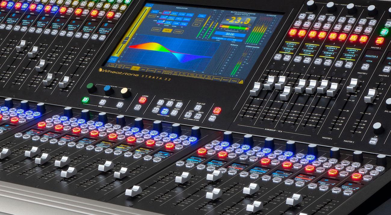 Wheatstone - Audio for Radio and Television Broadcasting